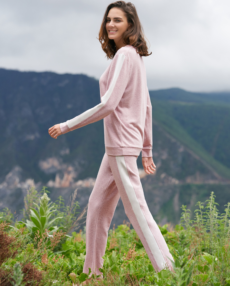Aimer Home睡衣|爱慕家品牛奶生活牛奶植物染家居套装AH460301