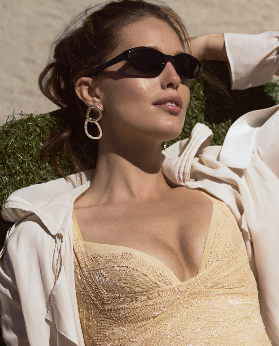 La Clover文胸|LA CLOVER魅力星塑3/4无纺布薄杯文胸LC12FX1
