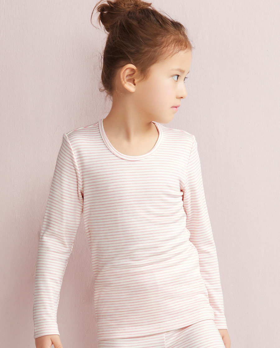 Aimer Kids保暖|爱慕儿童自然的爱长袖上衣AK1720281