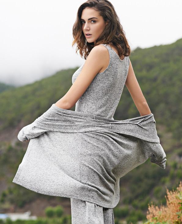 Aimer Home睡衣|爱慕家居随享针织开衫吊带家居套装AH430281