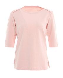 爱慕运动心灵瑜伽中厚五分袖T恤AS143D93