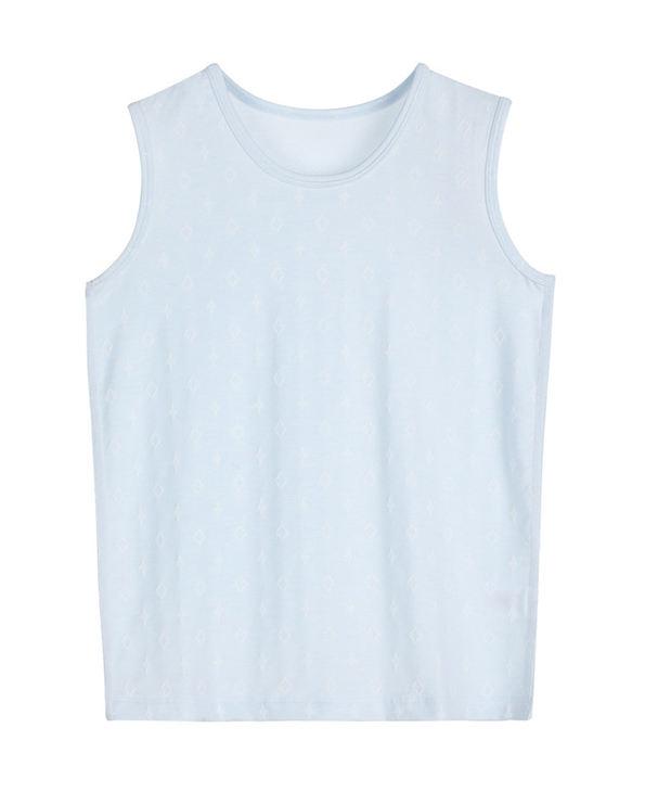 Aimer Kids睡衣|爱慕儿童闪耀牛奶宽肩背心AK2110091