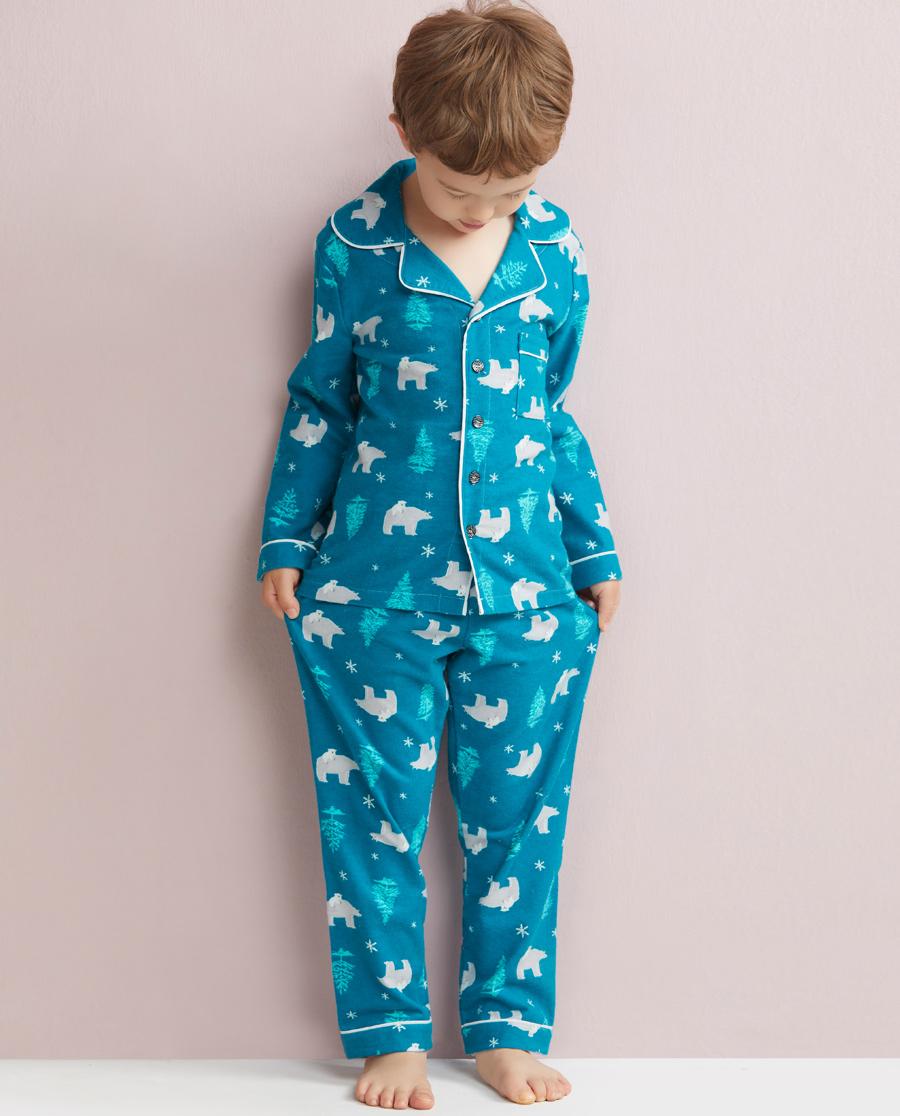 Aimer Kids睡衣 爱慕儿童极地世界家居长裤AK2420201