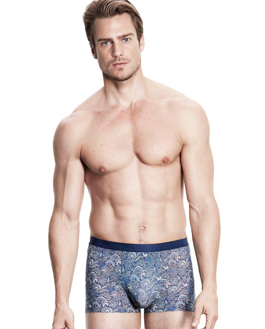 Aimer Men内裤 ag真人平台先生U-SPACE系列中腰平角内裤NS23B132