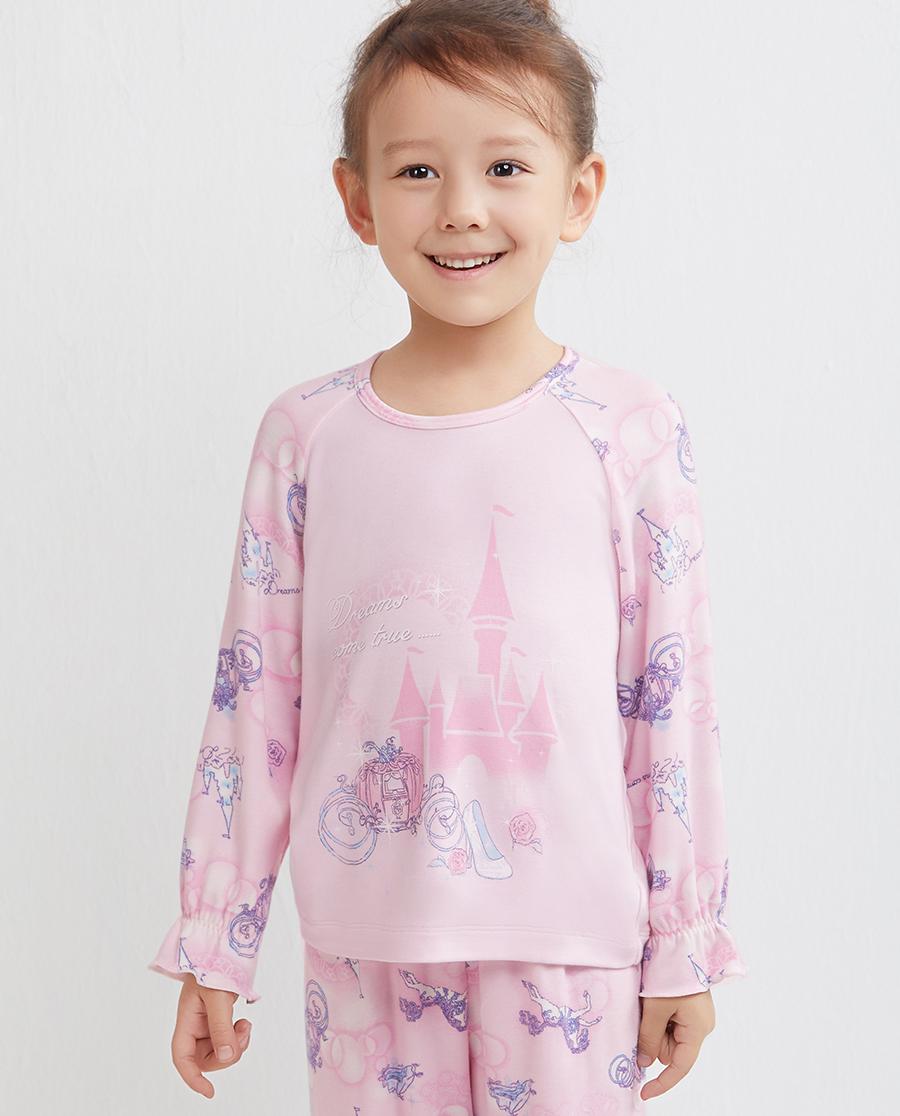 Aimer Kids睡衣|爱慕儿童美梦成真套头长袖睡衣AK1410171