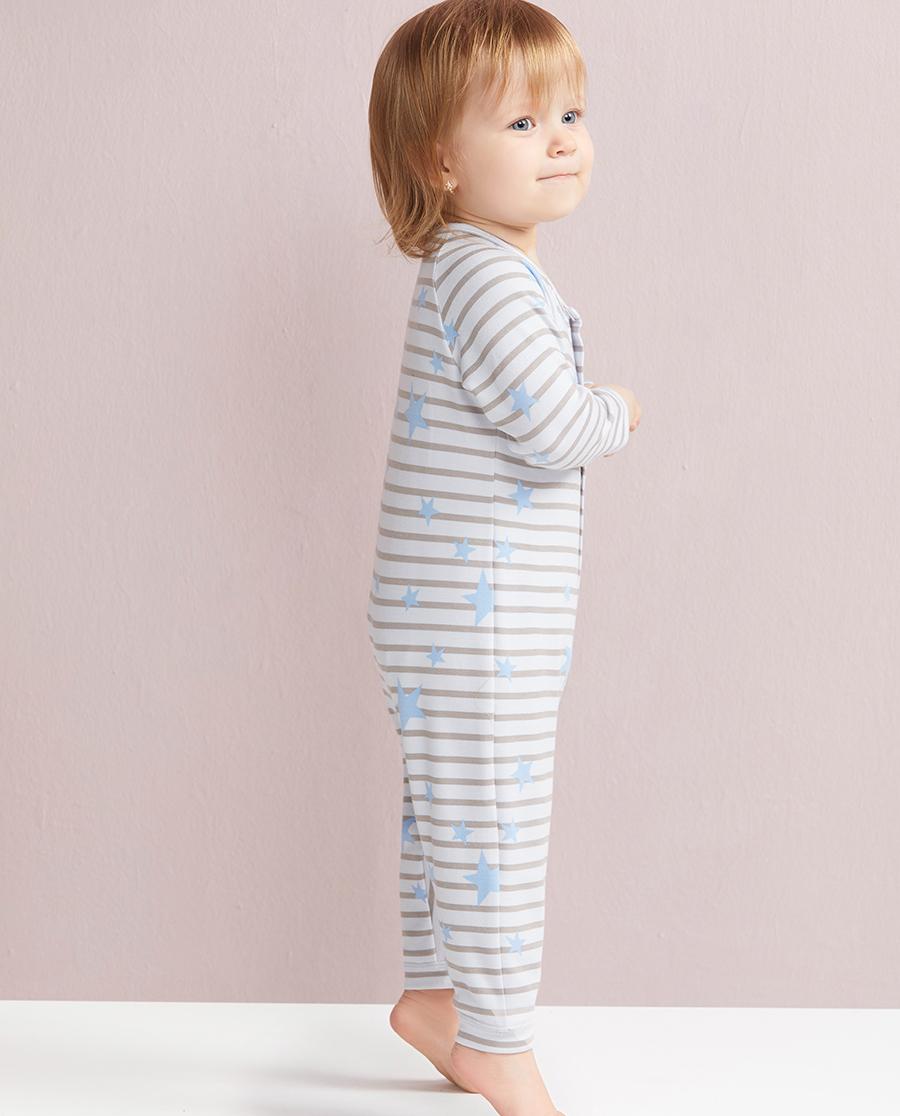 Aimer Baby保暖 爱慕婴儿瞌睡熊长袖连体爬服AB2750021