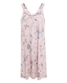 爱慕家品锦色涟漪吊带中长睡裙AH440201
