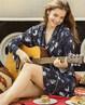 Aimer Home睡衣|爱慕家品锦色涟漪中长家居外披睡袍AH480201