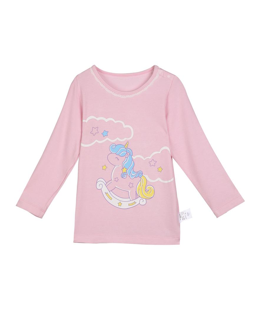 Aimer Baby保暖 爱慕婴儿独角兽长袖上衣AB1720021