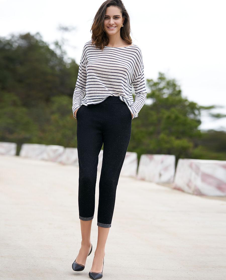 Aimer睡衣|ag真人平台打底裤群外穿休闲长裤AM822186