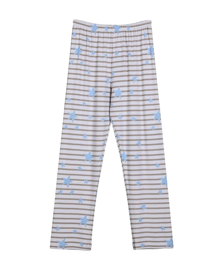 Aimer Kids睡衣|爱慕儿童瞌睡熊长睡裤AK2420021