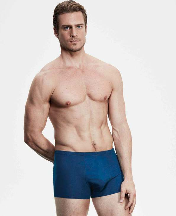 Aimer Men内裤|爱慕先生棉1号裤中腰平角内裤NS23B121