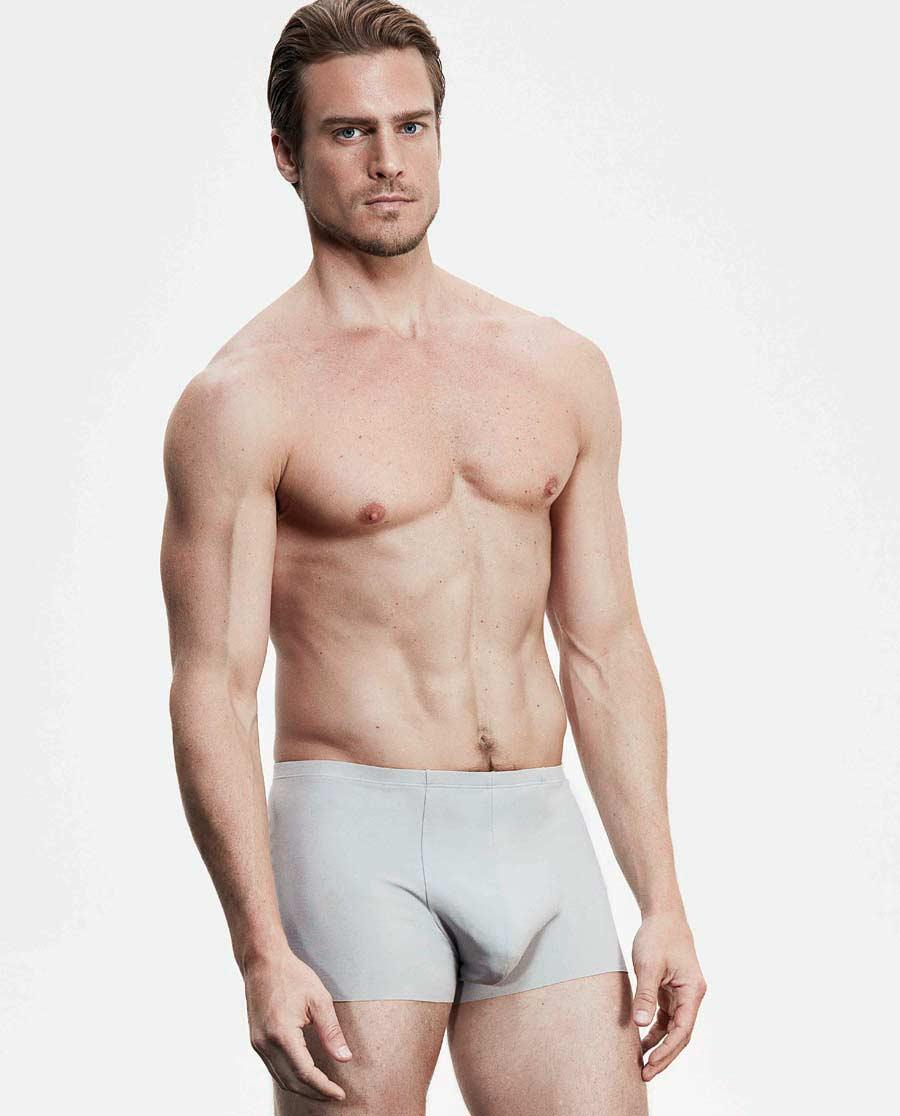 Aimer Men内裤|爱慕先生棉1号裤无痕中腰平角内裤NS23B121