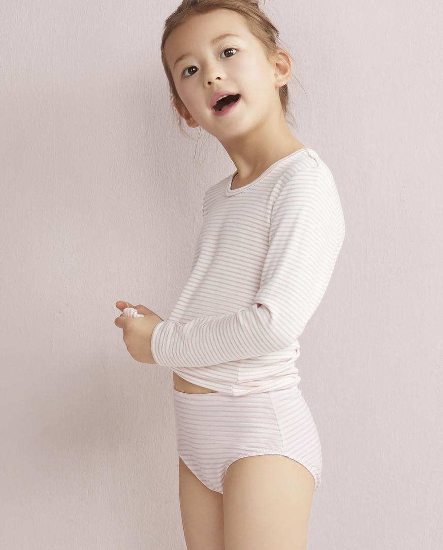 Aimer Kids内裤|爱慕儿童叶之韵律中腰三角裤双件包AK1220081