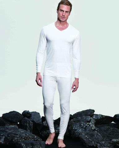 Aimer Men保暖|爱慕先生值莫代尔系列长袖长裤暖衣套装NS74B101