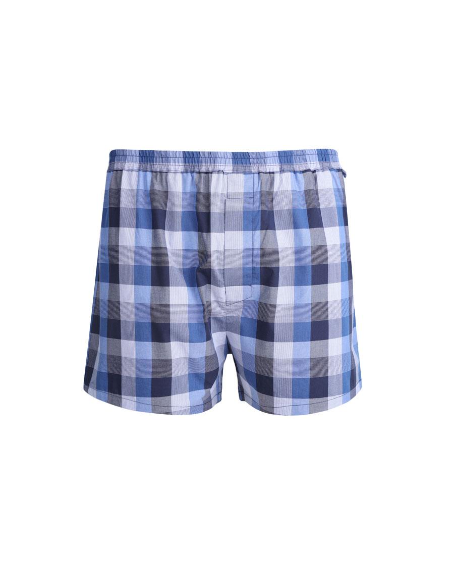 Aimer Men睡衣|爱慕先生梭织四角裤包腰内裤NS24B541