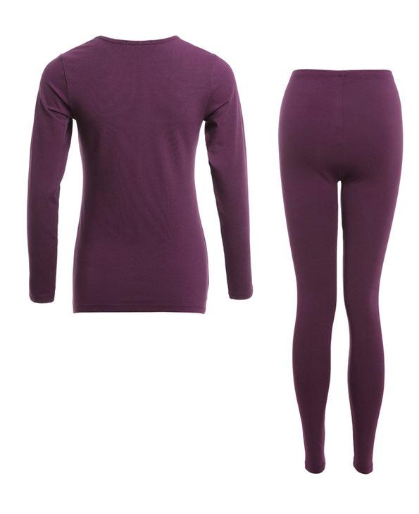 Aimer保暖|爱慕优选优品系列长袖上衣套装AM742961