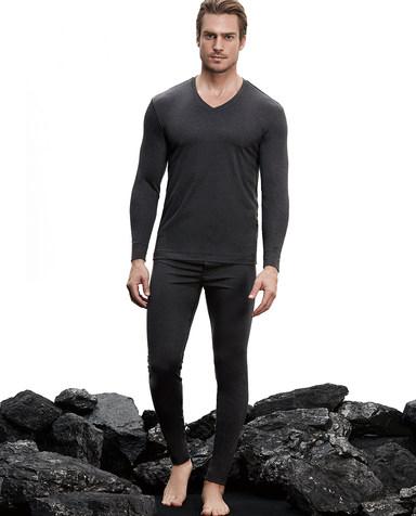 Aimer Men保暖 爱慕先生暖衣系列双层长裤NS73B402