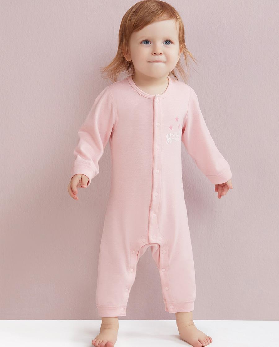 Aimer Baby保暖 爱慕婴儿暖阳新意长袖连体爬服AB1750331