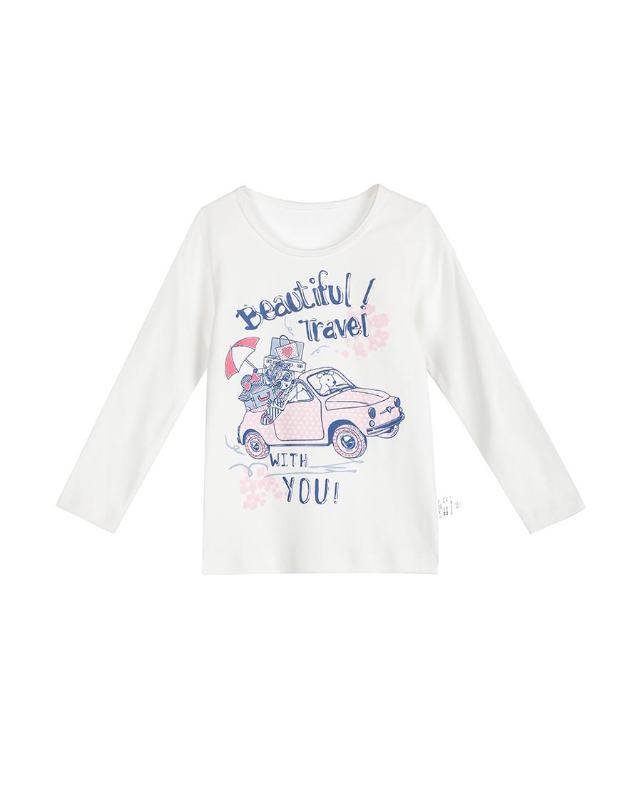 Aimer Baby保暖 爱慕婴儿开心花语长袖上衣AB1720291