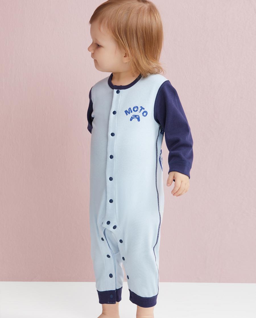 Aimer Baby保暖 爱慕婴儿暖阳新意长袖连体爬服AB2750331