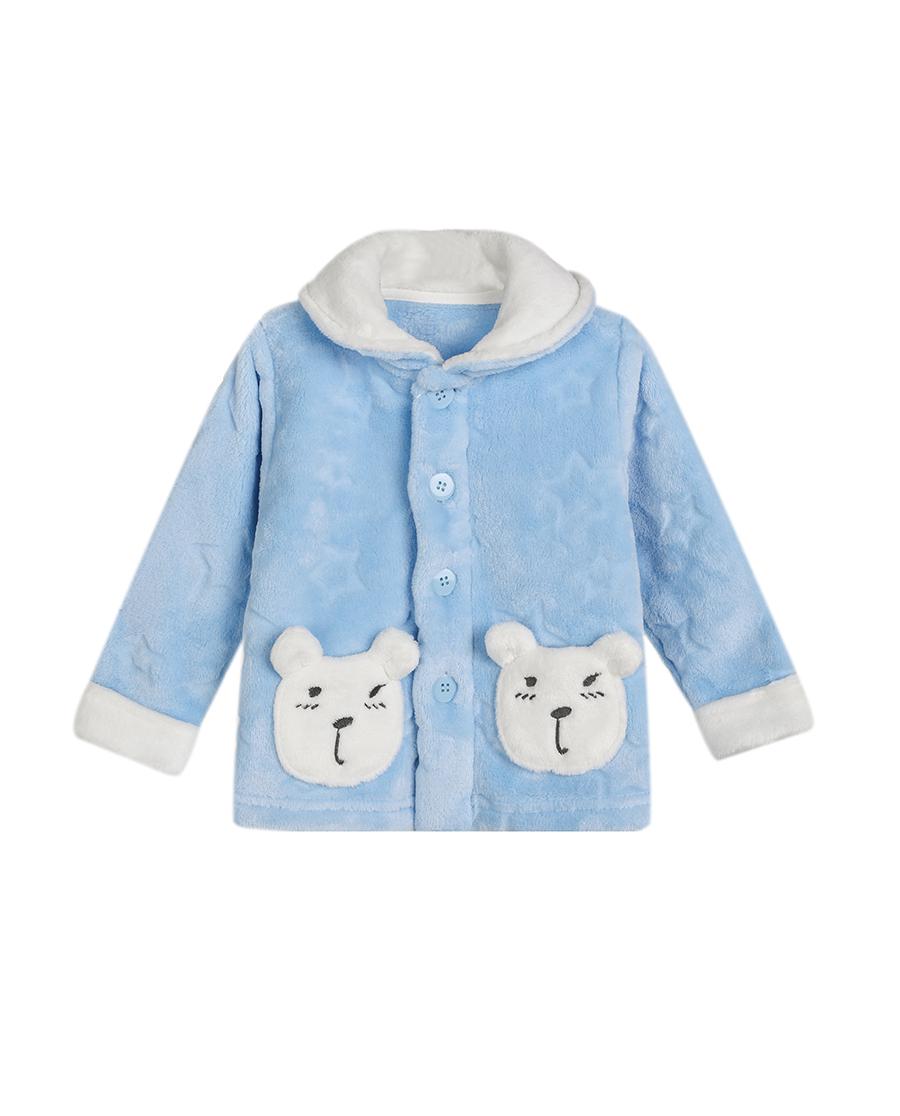 Aimer Baby睡衣 爱慕婴儿星星熊开衫长袖家居上衣AB2410231