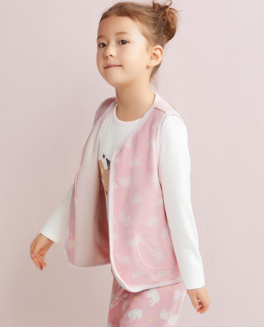 Aimer Kids睡衣|爱慕儿童北欧之旅马甲AK1410182