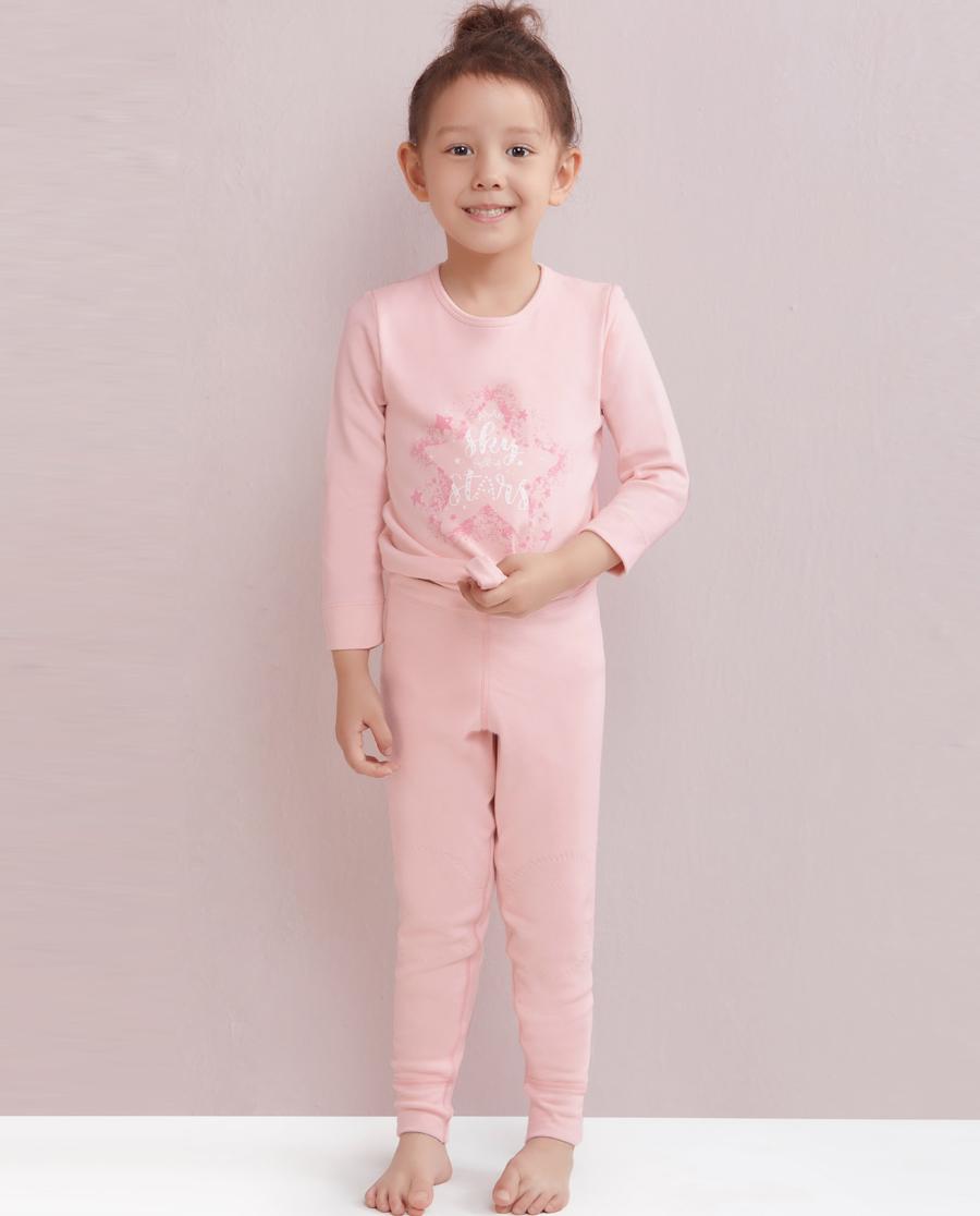 Aimer Kids保暖 爱慕儿童暖阳新意单层长裤AK1730331
