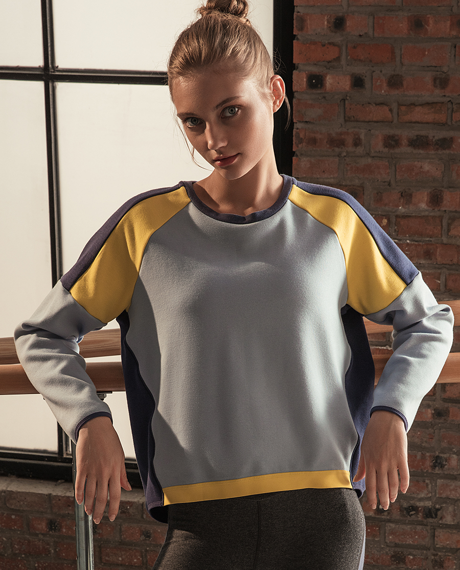 Aimer Sports运动装|ag真人平台运动动态瑜伽套头卫衣AS144E31