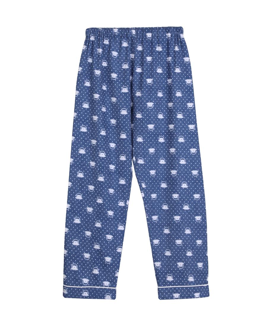 Aimer Kids睡衣|爱慕儿童宇航熊家居长裤AK2420251