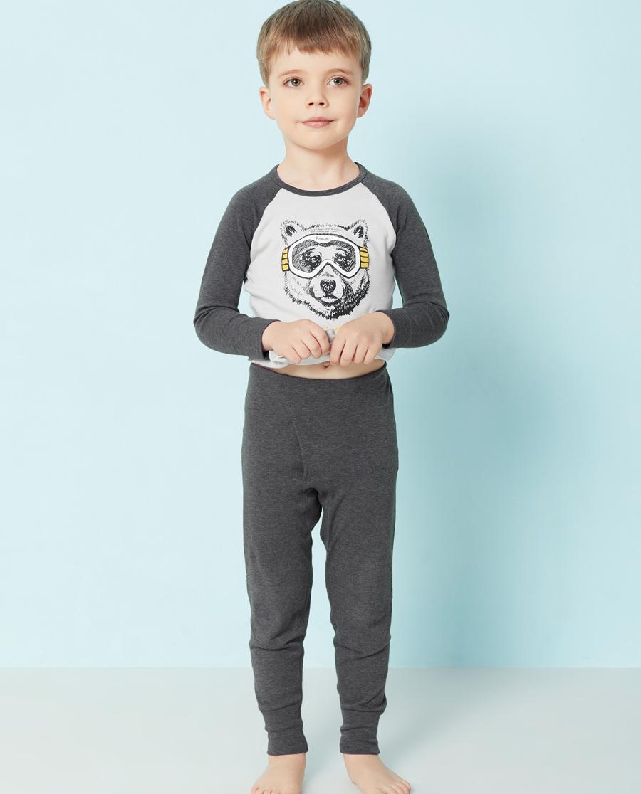 Aimer Kids保暖|爱慕儿童酷玩熊针织长裤AK273T81