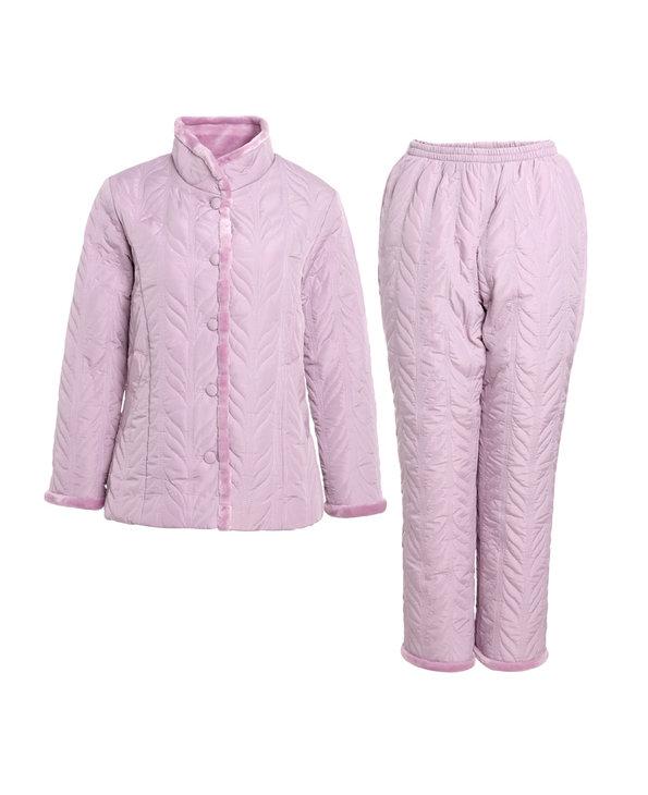 Aimer Home睡衣 爱慕家居雅致生活Ⅱ长袖长裤家居套装AH460271