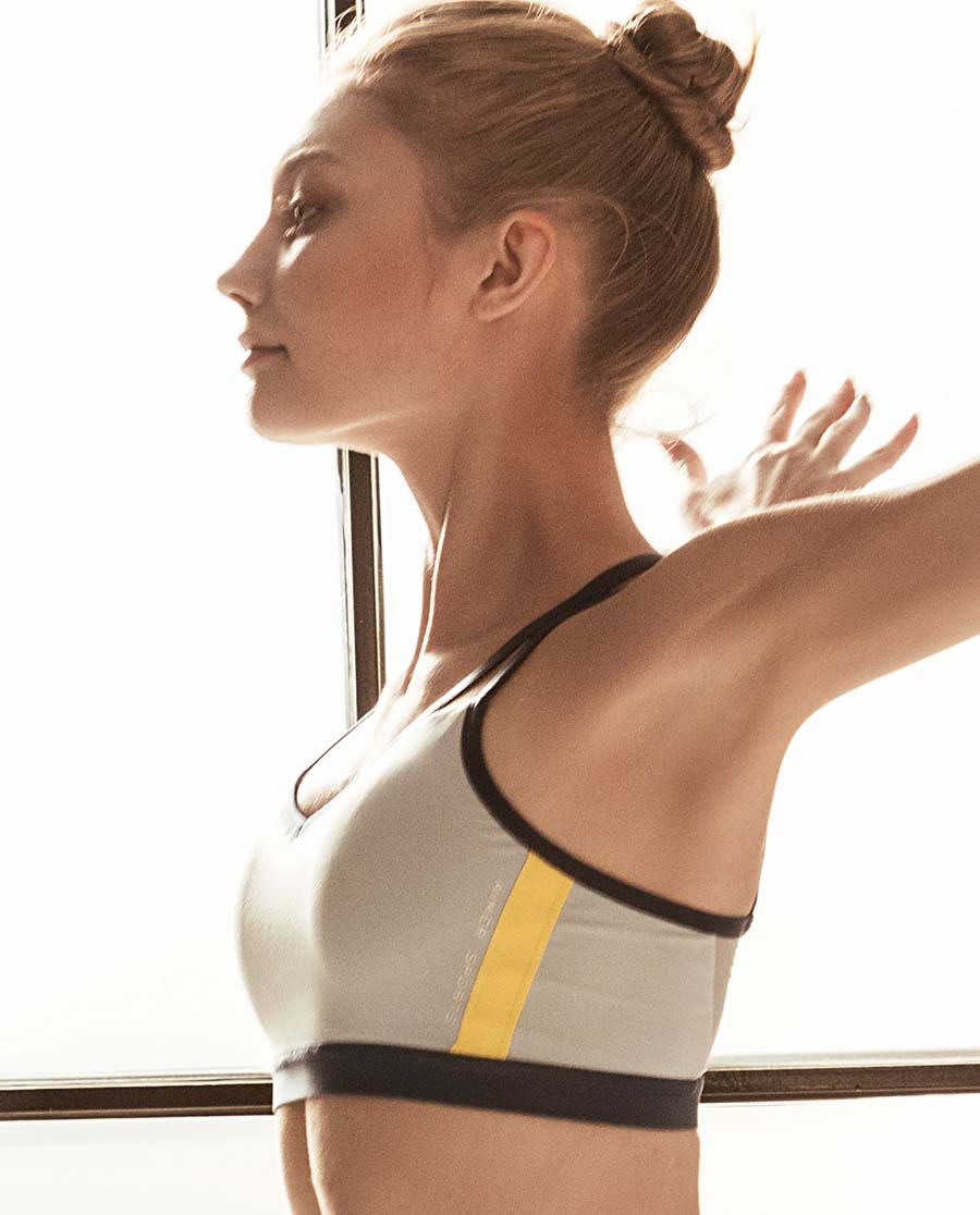 Aimer Sports文胸|ag真人平台运动动态瑜伽低强度背心式薄插杯文胸AS116E31