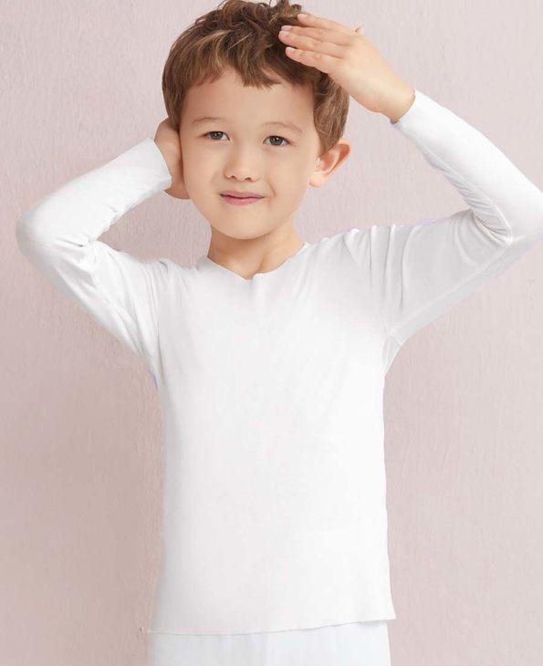 Aimer Kids保暖|爱慕儿童MODAL长袖上衣AK3720031
