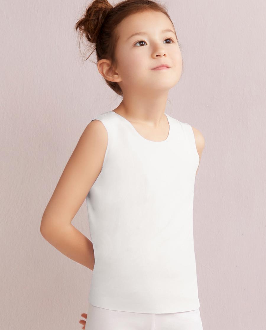 Aimer Kids睡衣|爱慕儿童MODAL宽肩背心AK3110031