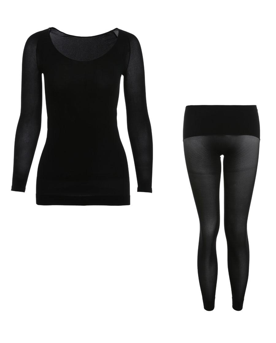 La Clover保暖|LA CLOVER皮肤衣系列打底套装LC