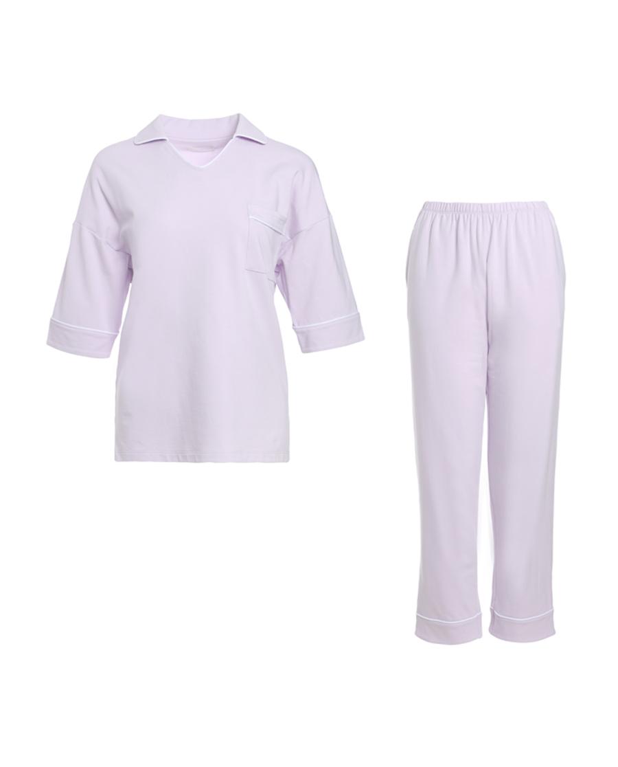 爱慕假日时光短袖长裤分身套装AM462331