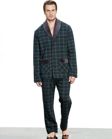 Aimer Men睡衣|爱慕先生英伦格纹家居长裤NS42B231