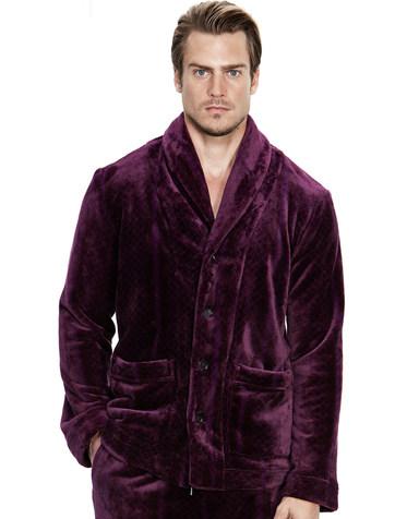 Aimer Men睡衣|爱慕先生珊瑚绒家居开衫长袖上衣NS41B252