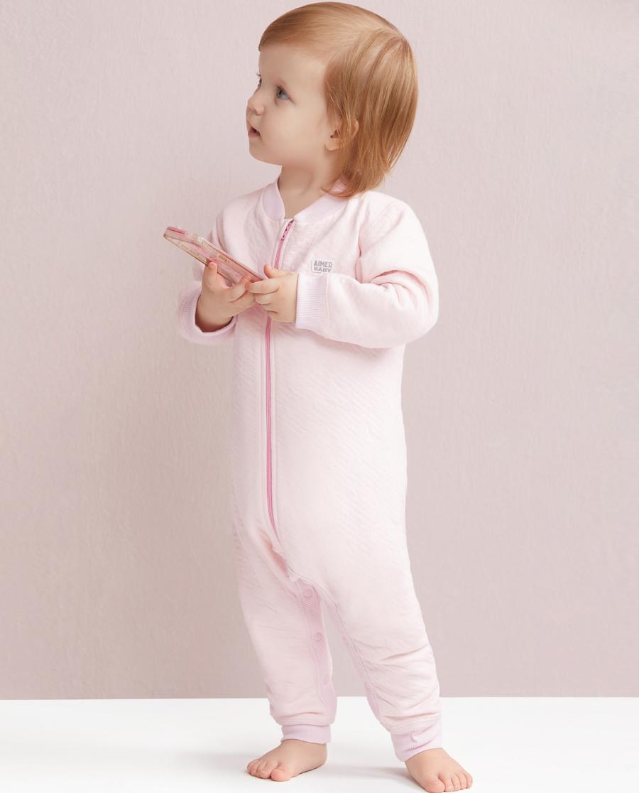 Aimer Baby睡衣|爱慕婴儿星点宝贝连体长袖睡袋AB1450211