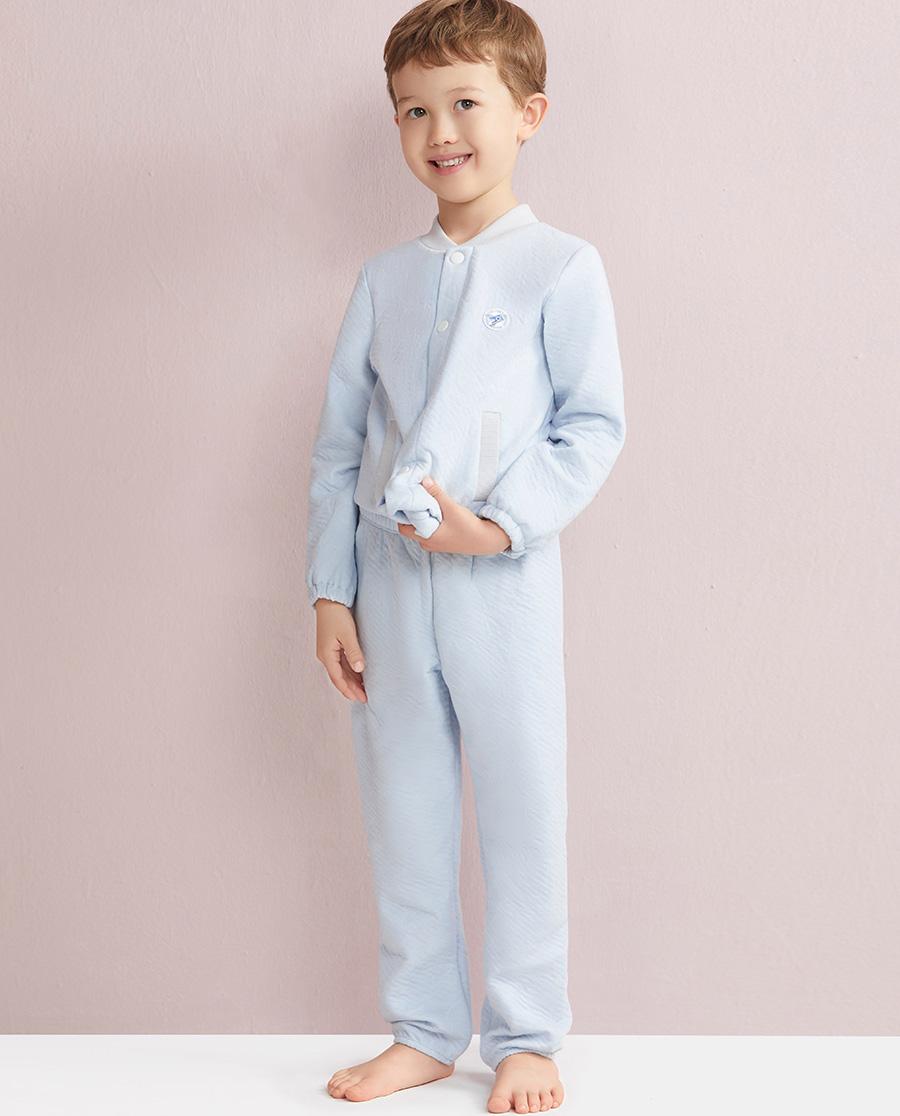 Aimer Kids睡衣 爱慕儿童星点宝贝男童家居长裤AK2420211