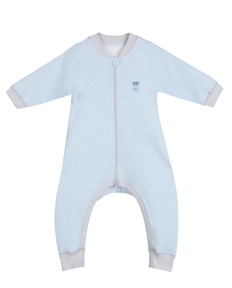 Aimer Baby睡衣|爱慕婴儿星点宝贝连体长袖睡袋AB2450211