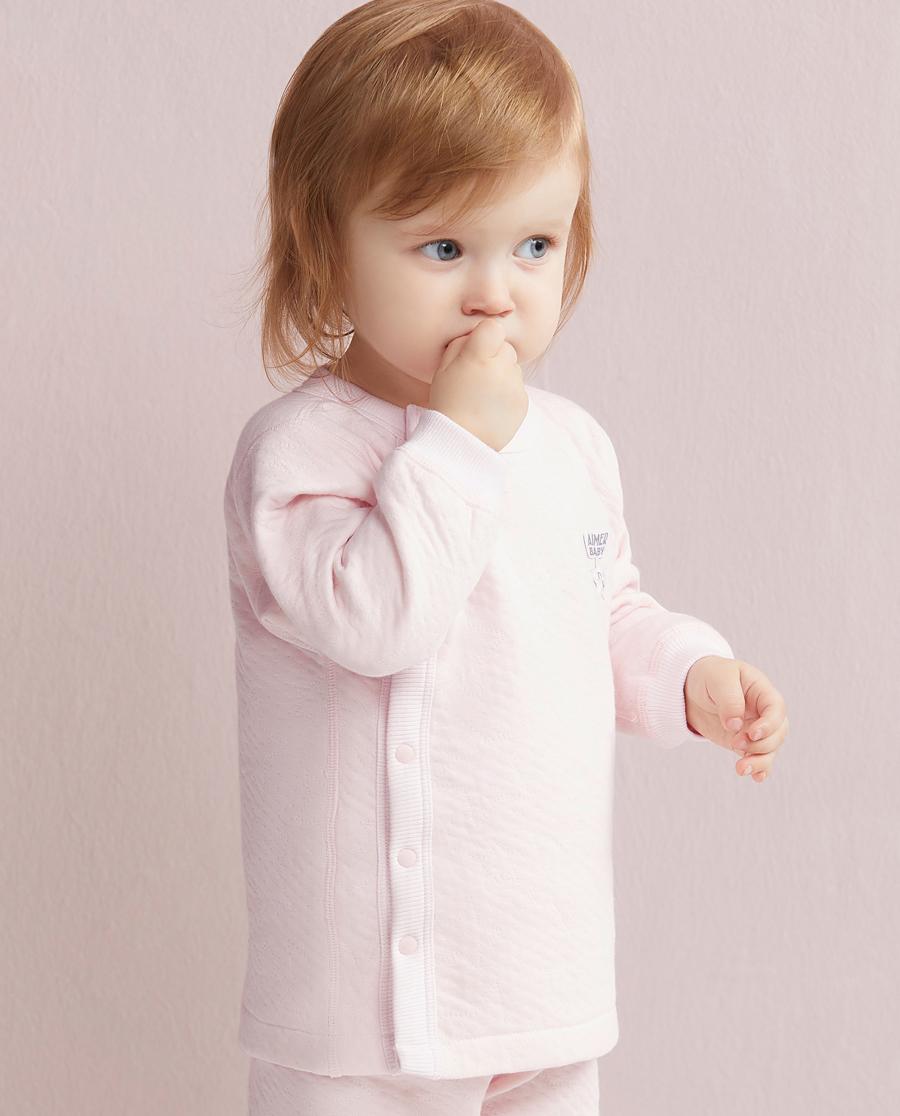 Aimer Baby睡衣|爱慕婴儿星点宝贝开衫长袖上衣AB1410211