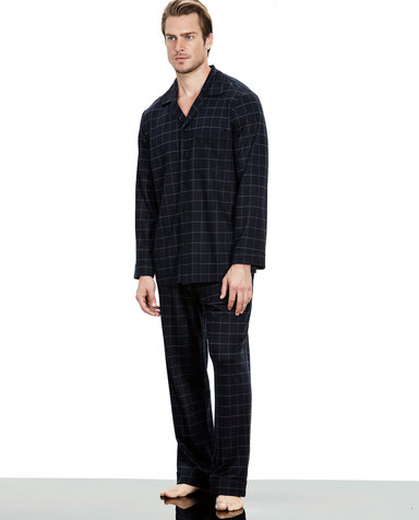 Aimer Men睡衣|爱慕先生绅士格纹家居长裤NS42B261
