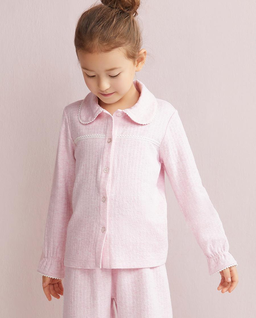 Aimer Kids睡衣|爱慕儿童棉棉新语长袖上衣AK1410251
