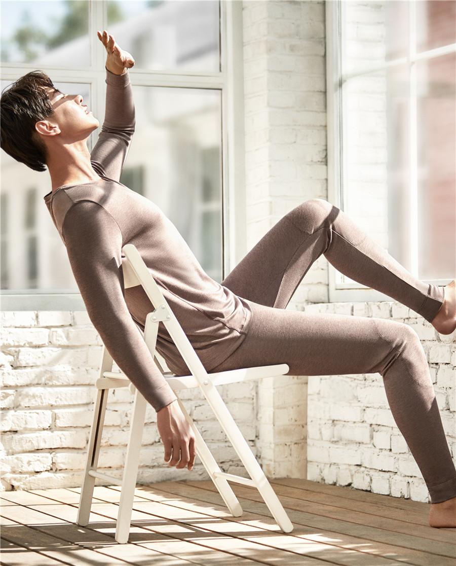 Body Wild保暖 宝迪威德哲思风尚单层包腰长裤ZBN73KS1