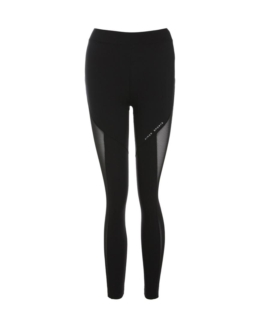 Aimer Sports运动装|爱慕运动热力健身跑步九分裤AS153E61