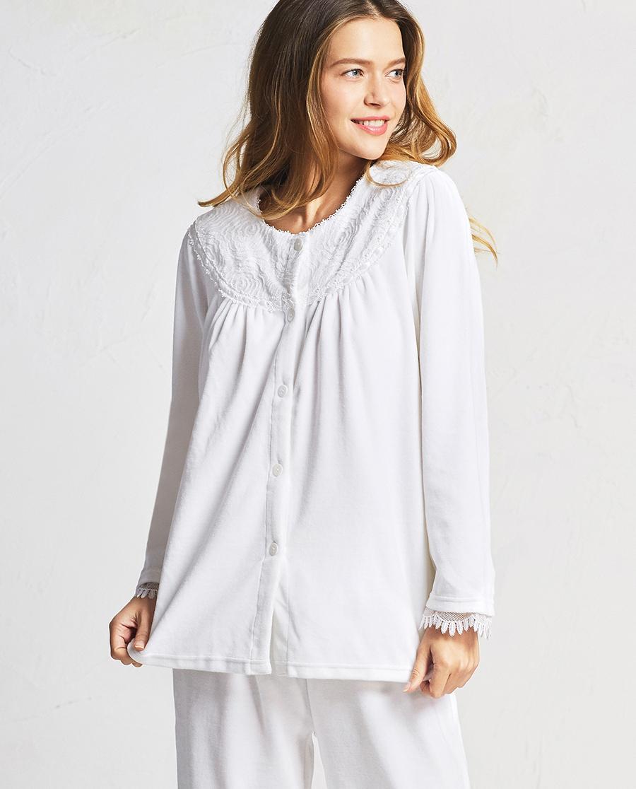 Aimer睡衣|爱慕赫本时代长袖长裤分身套装AM460141