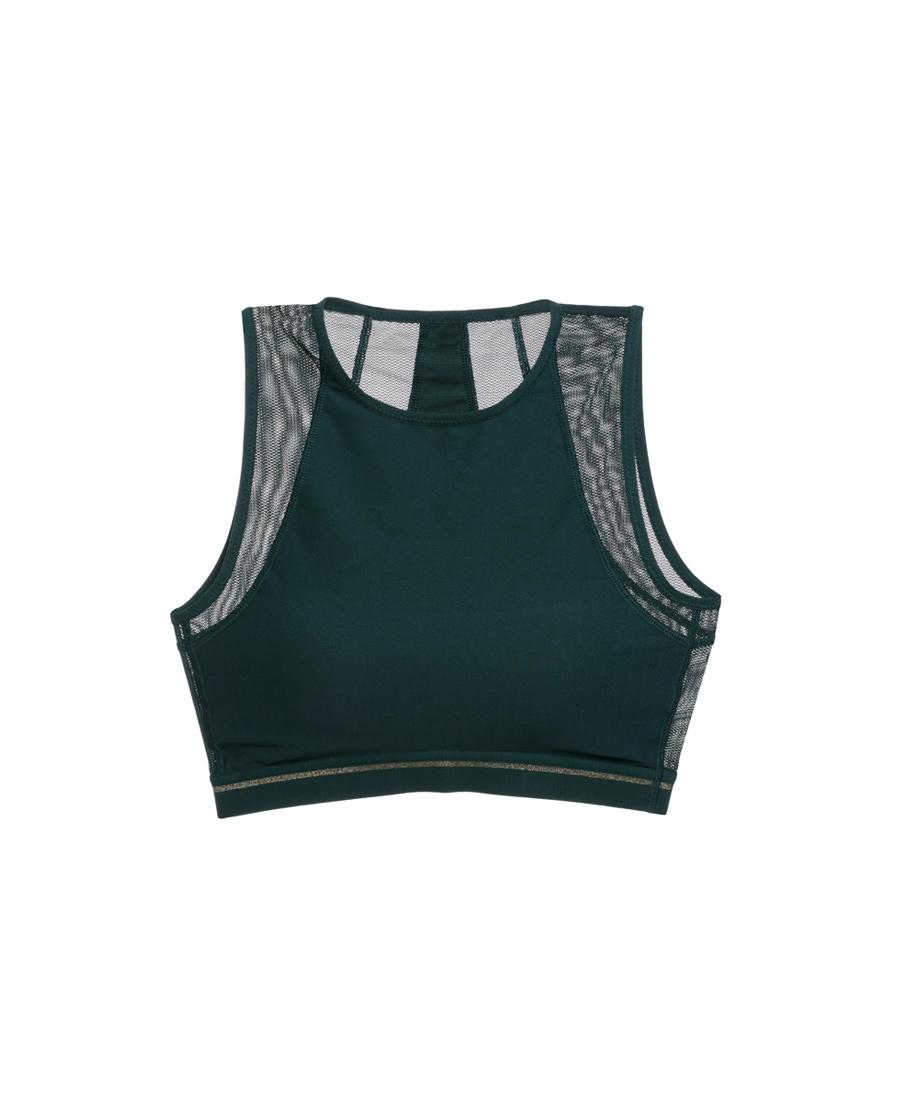 爱慕运动热力健身中强度背心式薄模杯外穿文胸AS116E61