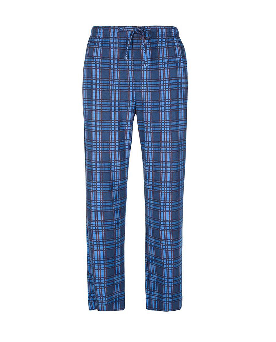 Aimer Men睡衣 爱慕先生针织格纹家居长裤NS42B561